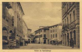 Spilimbergo, commercio in centro 1915
